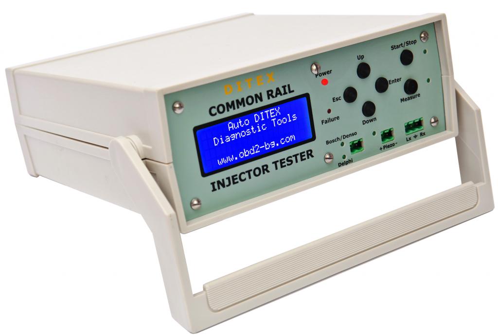 Injektor kivezérlő a bevizsgáló próbapadhoz